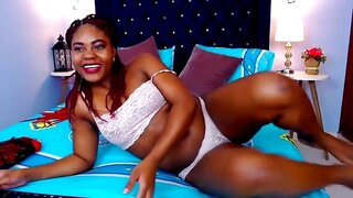 AmberStoneReal – Sexy Ebony Is Waiting Fory