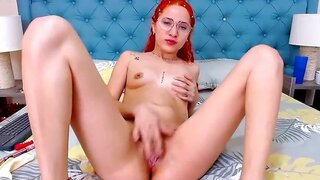 AbbyMonet – Redhead Plays With Her Red Haired Pussy